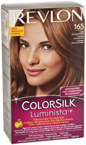 Revlon Colorsilk Luminista Light Carmel Brown 165 4 Fluid Ounce