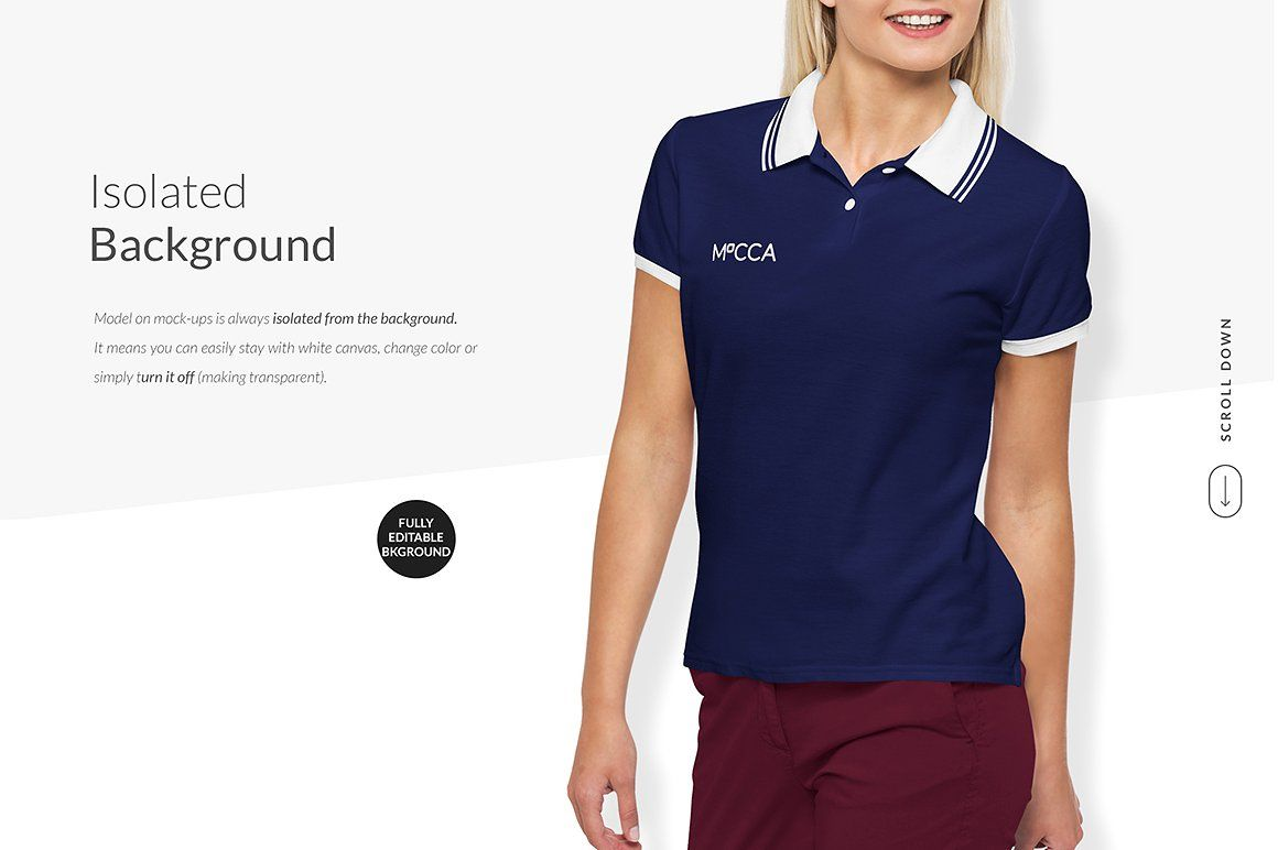 Women Polo Shirt Mockups Free Demo Polo Shirt Women Polo Shirt Design Women Polo
