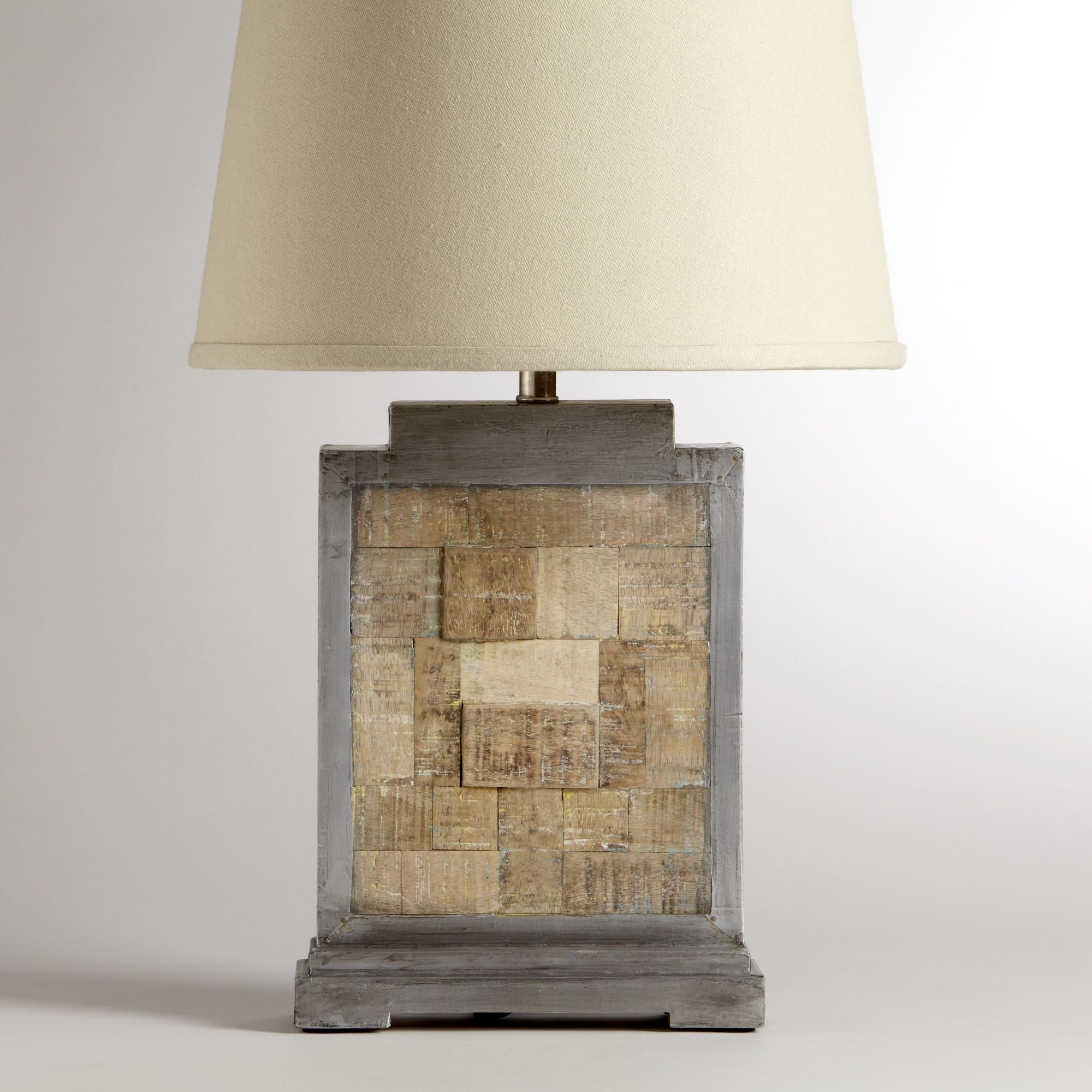 sold square beeston wood reclaimed lamp for reclamation base best