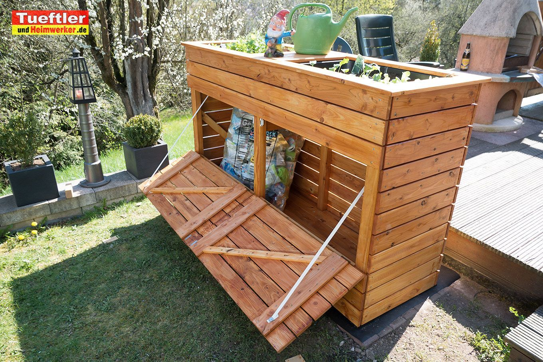 Hochbeet Mit Kombinierter Mullbox Selber Bauen Diy Projekttueftler U Bauen Diy Gardengarageideaspatio Hochbeet K