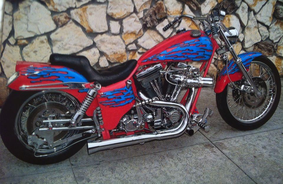 Harley Davidson Splash of evo