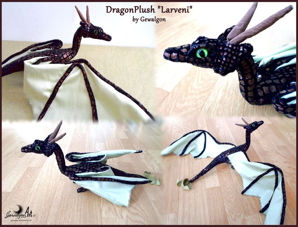 Böser Drache Wearable Toy