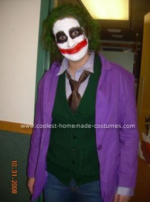 Cool do it yourself ideas for cheap halloween costumes halloween homemade halloween costumes for adults funny coolest homemade joker halloween costume 26 solutioingenieria Images