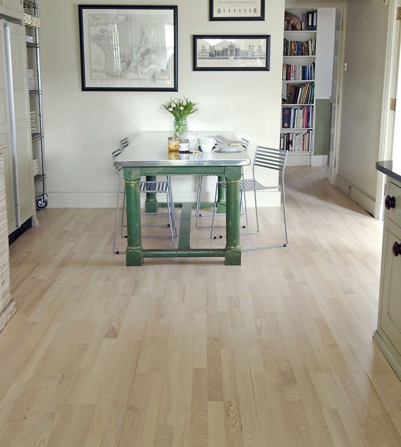 Junckers 14mm Nordic Ash Harmony Solid Wood Flooring Hardwood