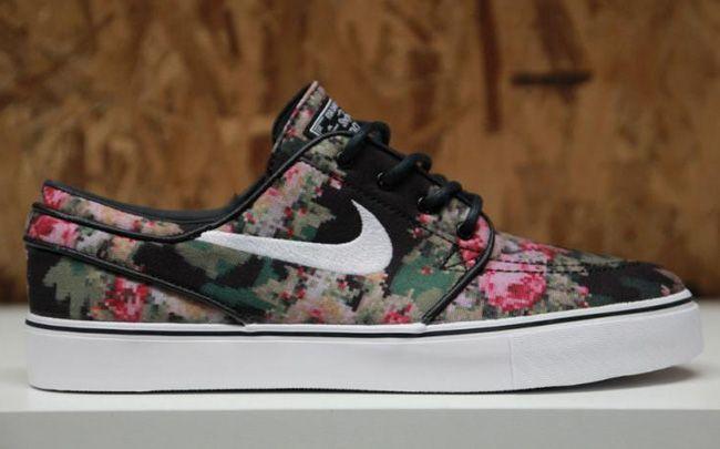 Nike Sb Janoski Floral Camo