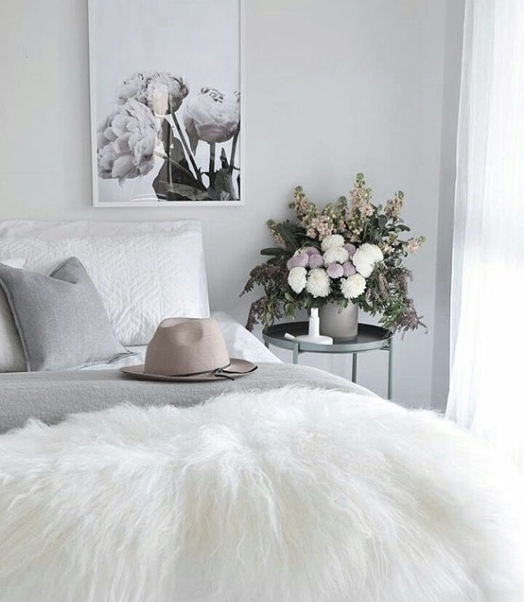 Beautiful Bedroom Style By @kerryann_stylist Featuring Our The Stables Wall Art  Print By Yorkelee Prints