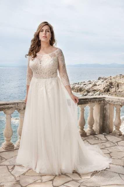 Curvy Bride; Bride; Hochzeit; Hochzeitskleid; Brautkleid ...