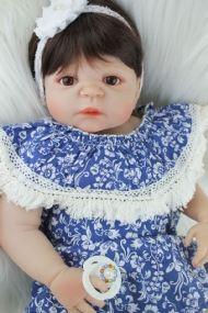 Bebê Reborn Larissa Manoela corpo em silicone + Acessórios - Pronta Entrega! a8ba8c8175