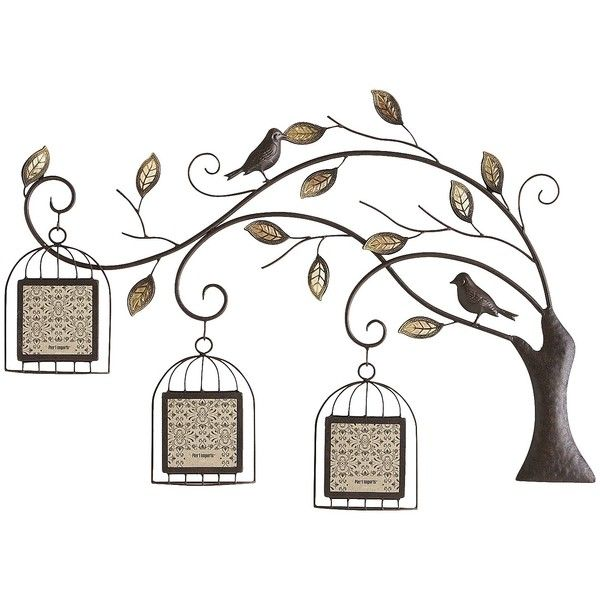 Pier 1 Imports Black Birdcage Tree Collage Frame ($50) ❤ liked on ...