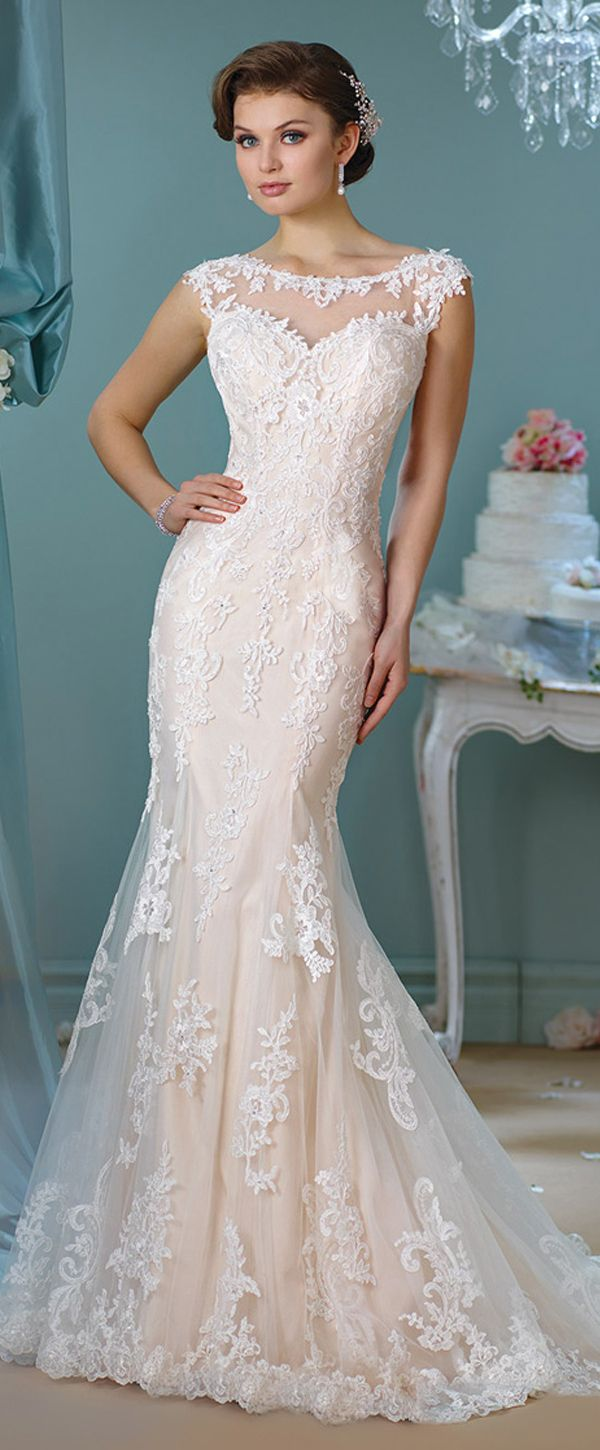Mermaid wedding dresses with sleeves  Junoesque Acetate Satin Sweetheart Neckline Mermaid Wedding Dresses