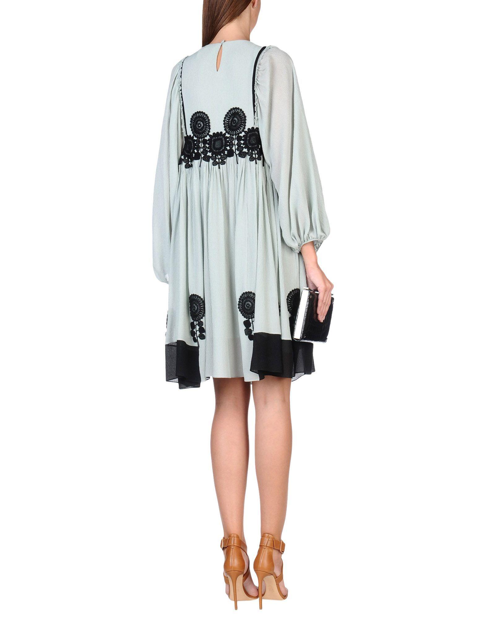 Chloé women short dress on yoox the best online selection of short
