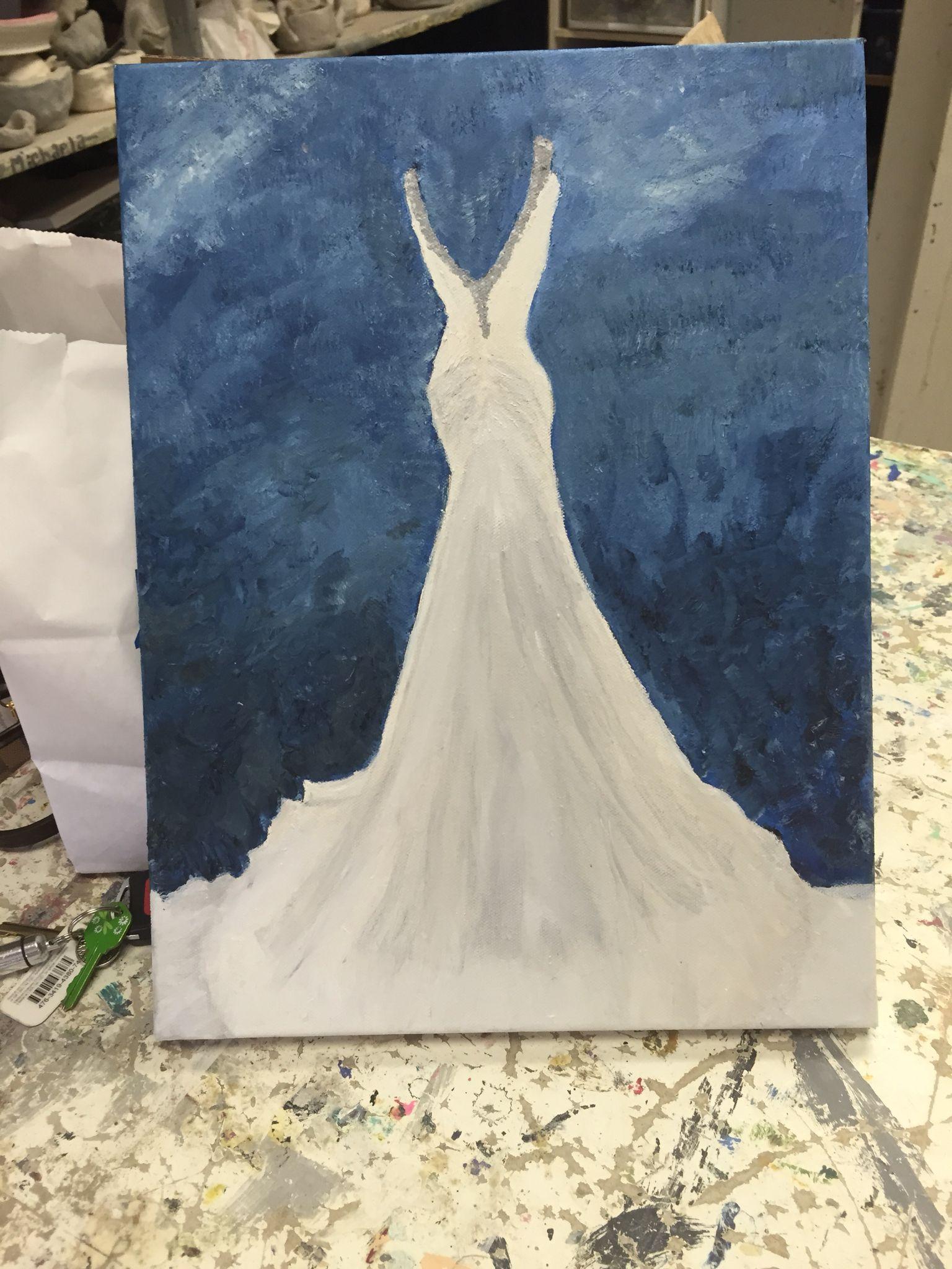 Wedding dress by epainter my art work pinterest wedding dress