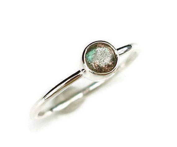 Labradorite Stacking Ring,