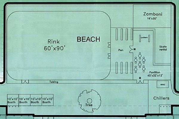 hotel resort indoor skating rink floor plans - Google ...