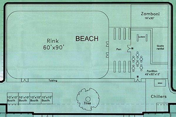 hotel resort indoor skating rink floor plans - Google ...