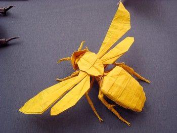 Wasp Bee Origami Origami Origami Origami Paper Und Origami