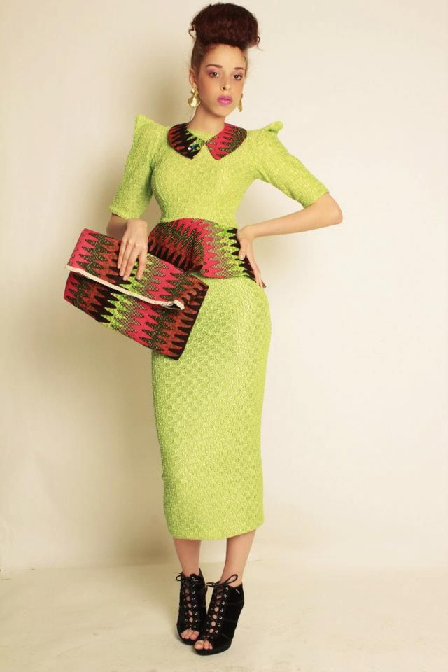 """African Prints in Fashion: """"For women of all shapes & sizes"""": MABM Designs"""