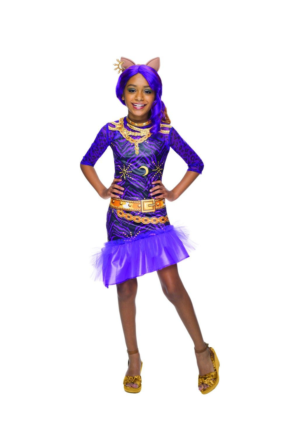 find great deals on costumes accessories and party supplies like the black carpet clawdeen wolf girls costume kids costumes at official princess - Wolf Halloween Costume Kids