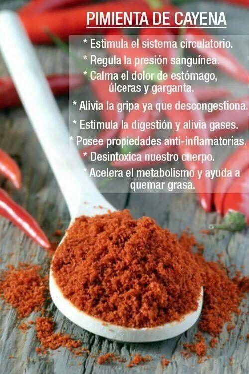 Pimienta De Cayena Beneficios De Alimentos Frutas Y Verduras Consejos De Dieta Saludable