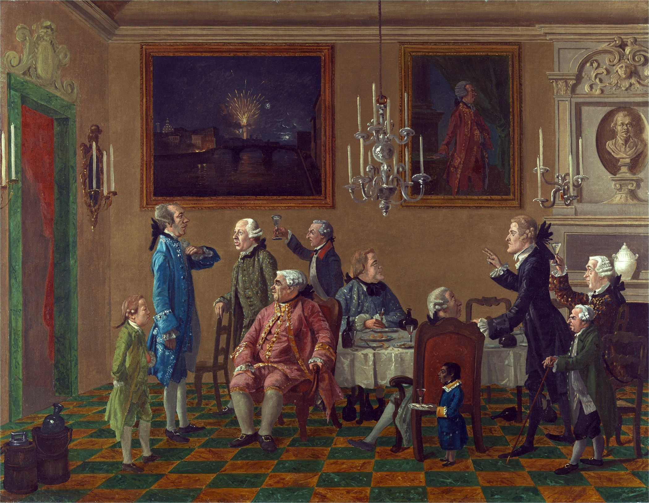 Sifting The Past 18th Century Paintings Florence Wall Art British Art