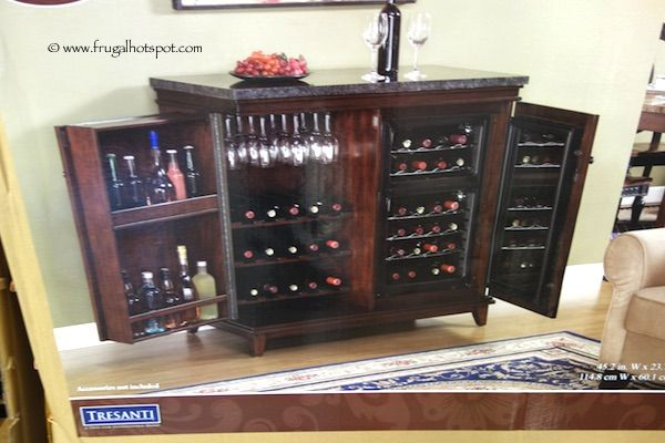 Tresanti Zinfandel Thermoelectric Wine Cooler Cabinet Costco