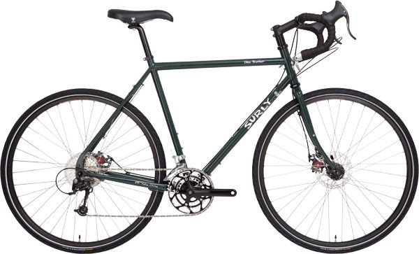 Disc Trucker Long Distance Touring Bike Surly Bikes Touring Bicycles Touring Bike Bike Friday