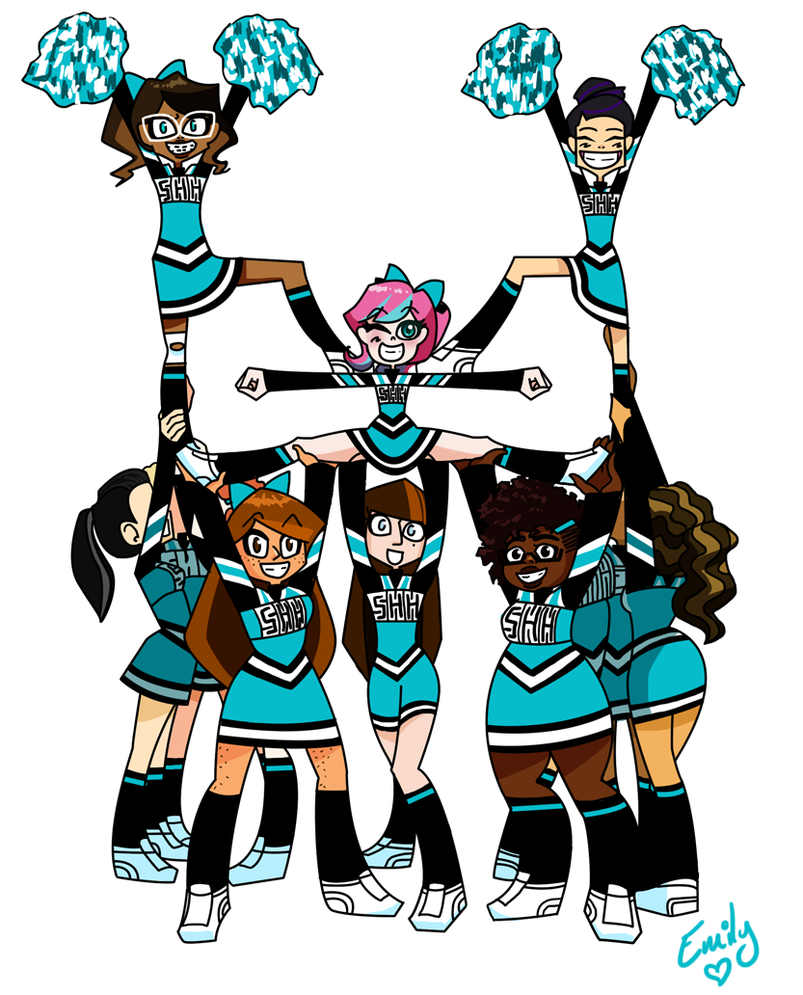 Cheerleading Clipart Stunts Clipart Panda Free Clipart Images ...