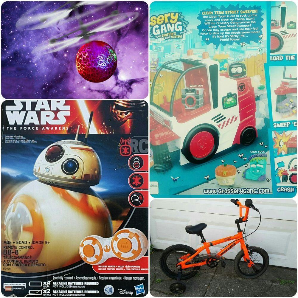 Toys car and bike  LOt  toys bb star wars bike tony haulk car grossery gang magic