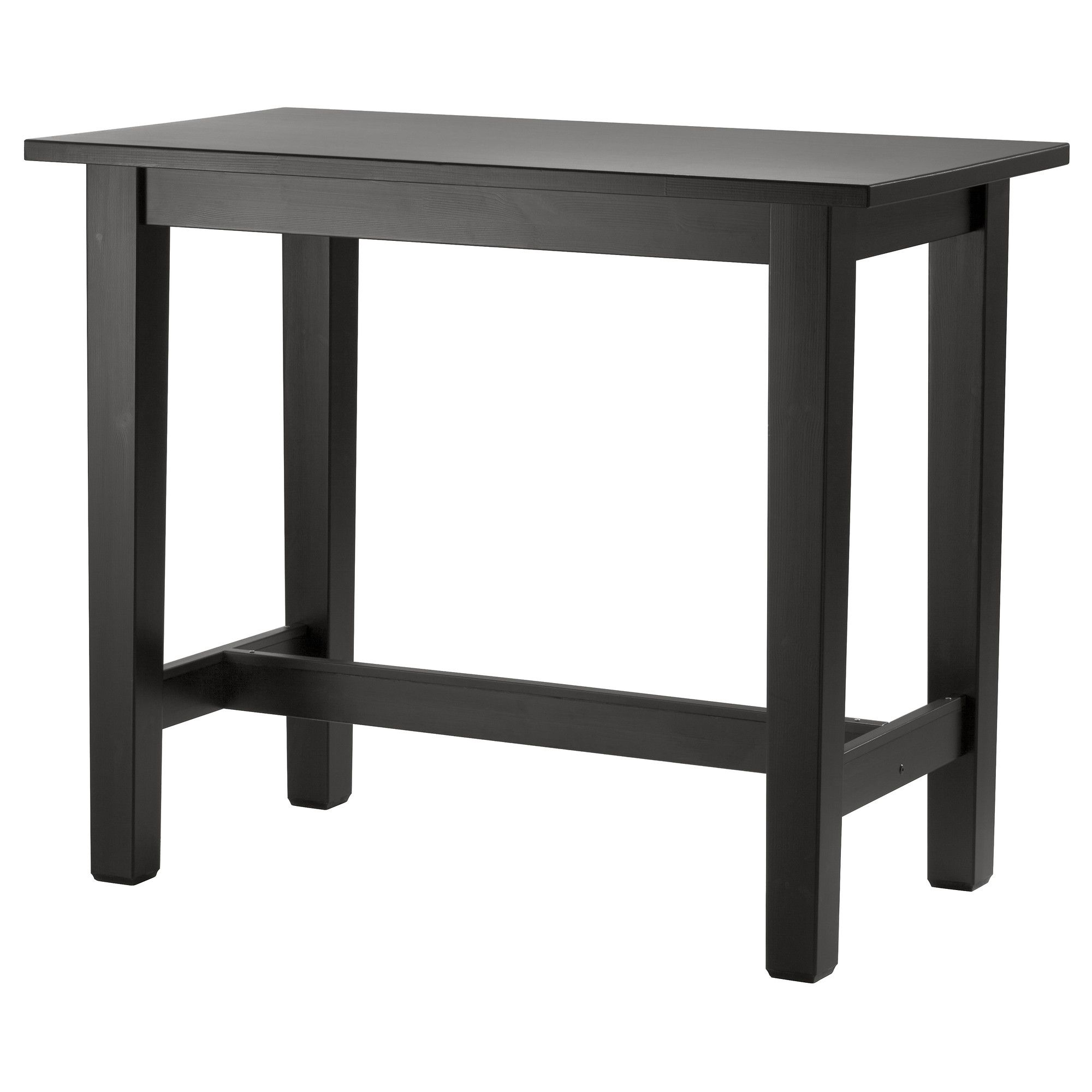 STORNÄS Bar table, brown-black | Blackboard paint, High top tables ...
