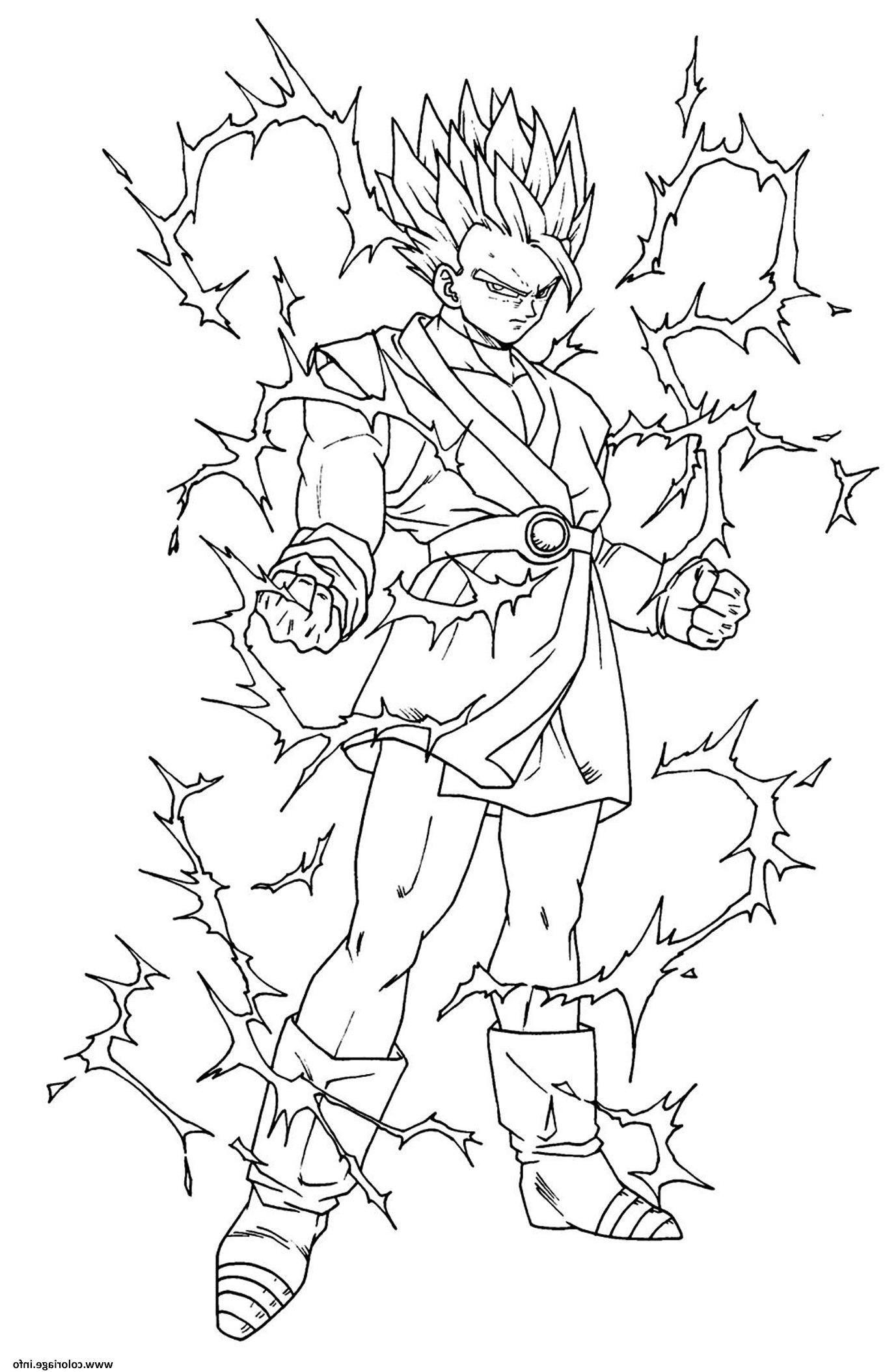 15 Nice Coloriage Dragon Ball Super Saiyan Divin Image Con