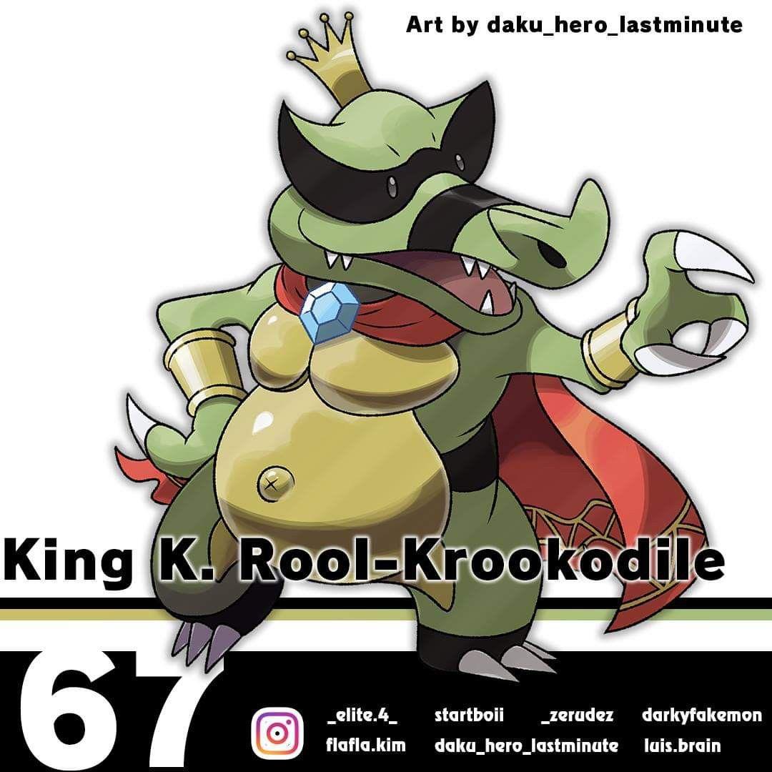 King K. Rool- Krookodile | Smash bros, Super smash bros, Super ...