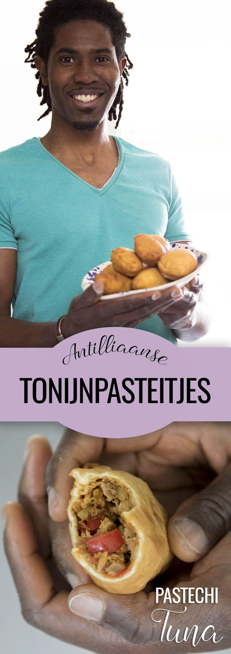 Antilliaanse Pastechi Tuna Tonijnpasteitjes Recept Video Recept Carribische Recepten Lekker Eten Eten Recepten