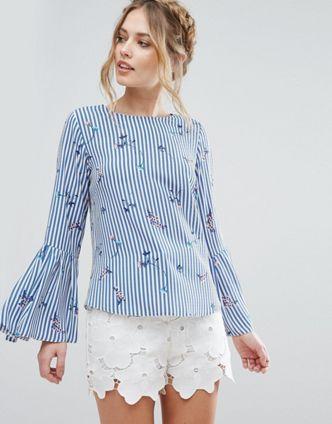 cf7f9ae7c66b03 Shirts | Women's shirts & blouses | ASOS | Platinablondi | Shirt ...