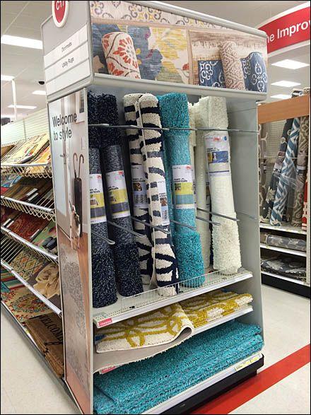 Endcap Upright Carpet Dividers Fixtures Close Up Divider Design Showroom Interior Design Carpet Shops