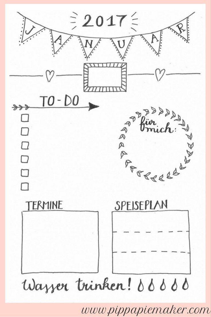 jeden tag eine kleine freude der tagesplaner tagesplan speiseplan und januar. Black Bedroom Furniture Sets. Home Design Ideas