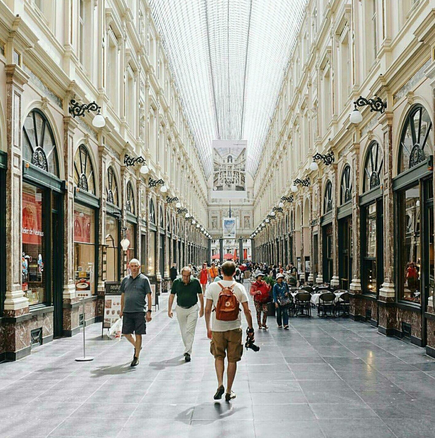 Galeries Royales Saint Hubert Koninklijke Sint Hubertusgalerijen Saint Hubert Breathtaking Places Street View