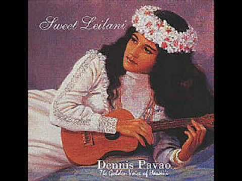 Hanalei Moon - Dennis Pavao - YouTube
