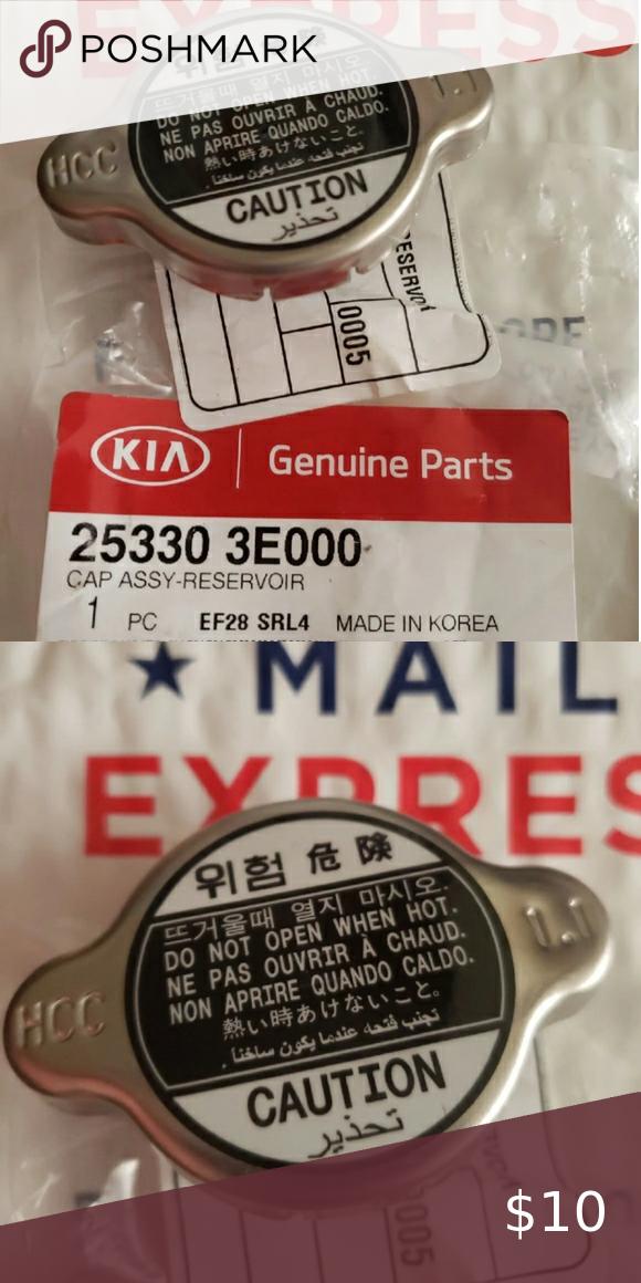 Kia Radiator Cap Radiator Cap Kia Kia Parts