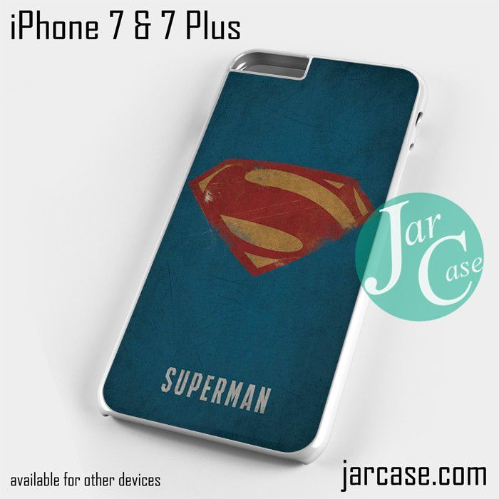 Superman art Logo Phone case for iPhone 7 and 7 Plus