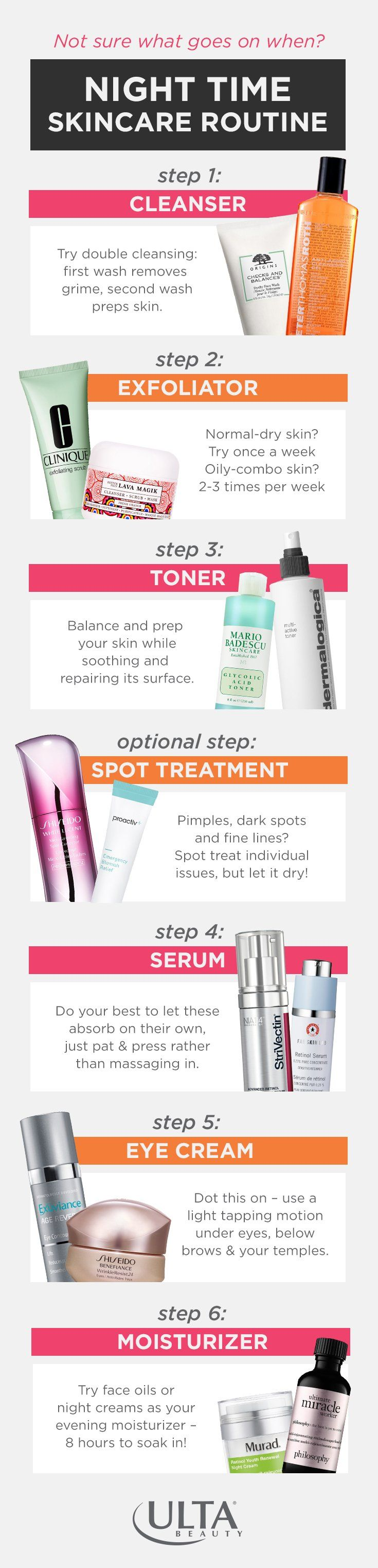 Step By Step Glow Guide The Ulta Beauty Mix Skin Care Skin Care Routine Steps Skin Care Routine