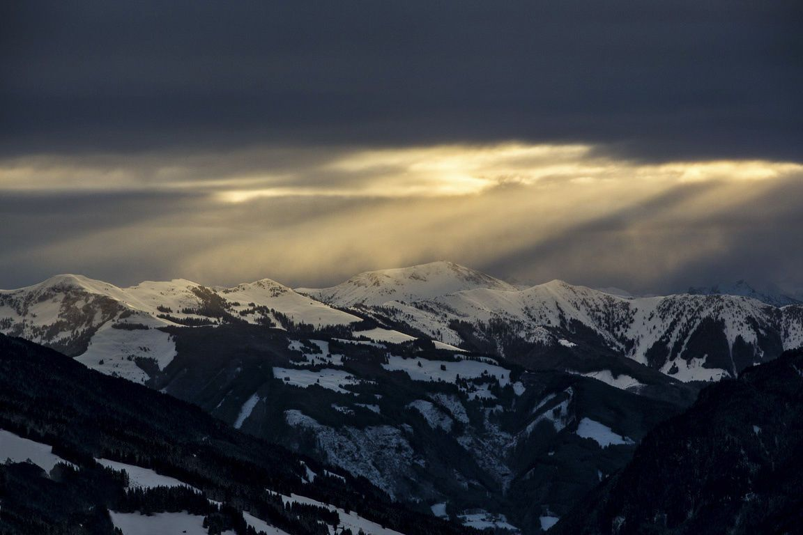 Shot this photo during a commercial job for the skiing area Saalbach-Hinterglemm.