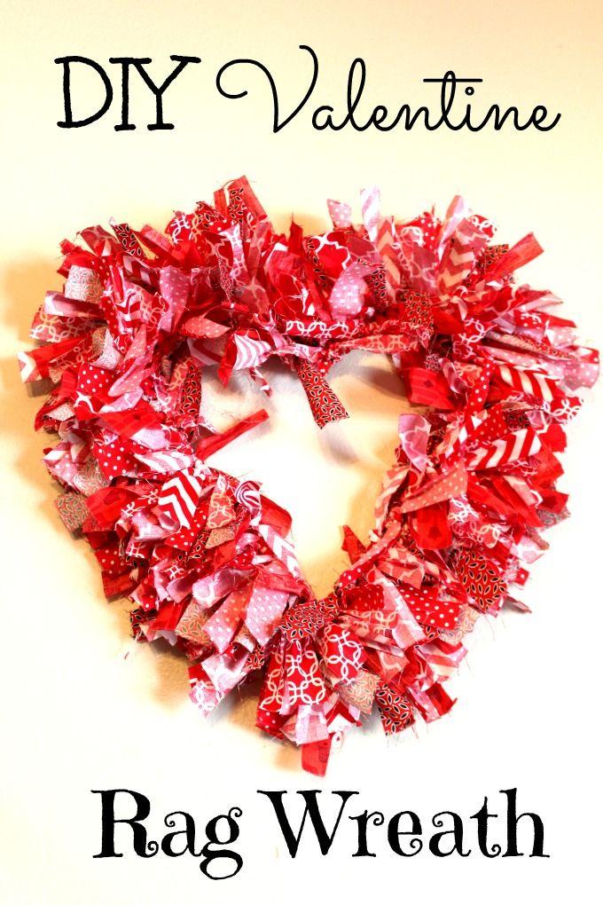 Photo of DIY Valentine Rag Wreath | Olives & Okra