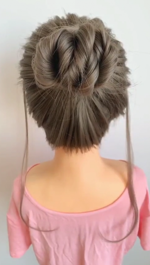 Hi Girls Tutorial Of New Awesome Hairstyles For Party Function Wedding Hairstyles Hair Style Girl In 2020 Braided Hairstyles For Wedding Hair Styles Up Hairstyles