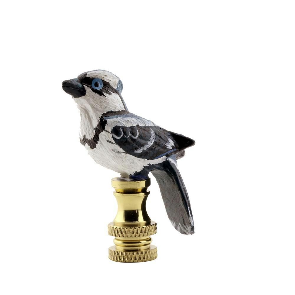 Mario Industries Blue Jay Lamp Finial R47 The Home Depot Lamp Finial Blue Glass Lamp Finials