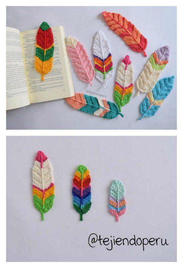 Pretty Feather Free Crochet Patterns | Pinterest | Tunesisch ...