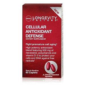 Gnc Longevity Factors Cellular Antioxidant Defense Gnc Gnc