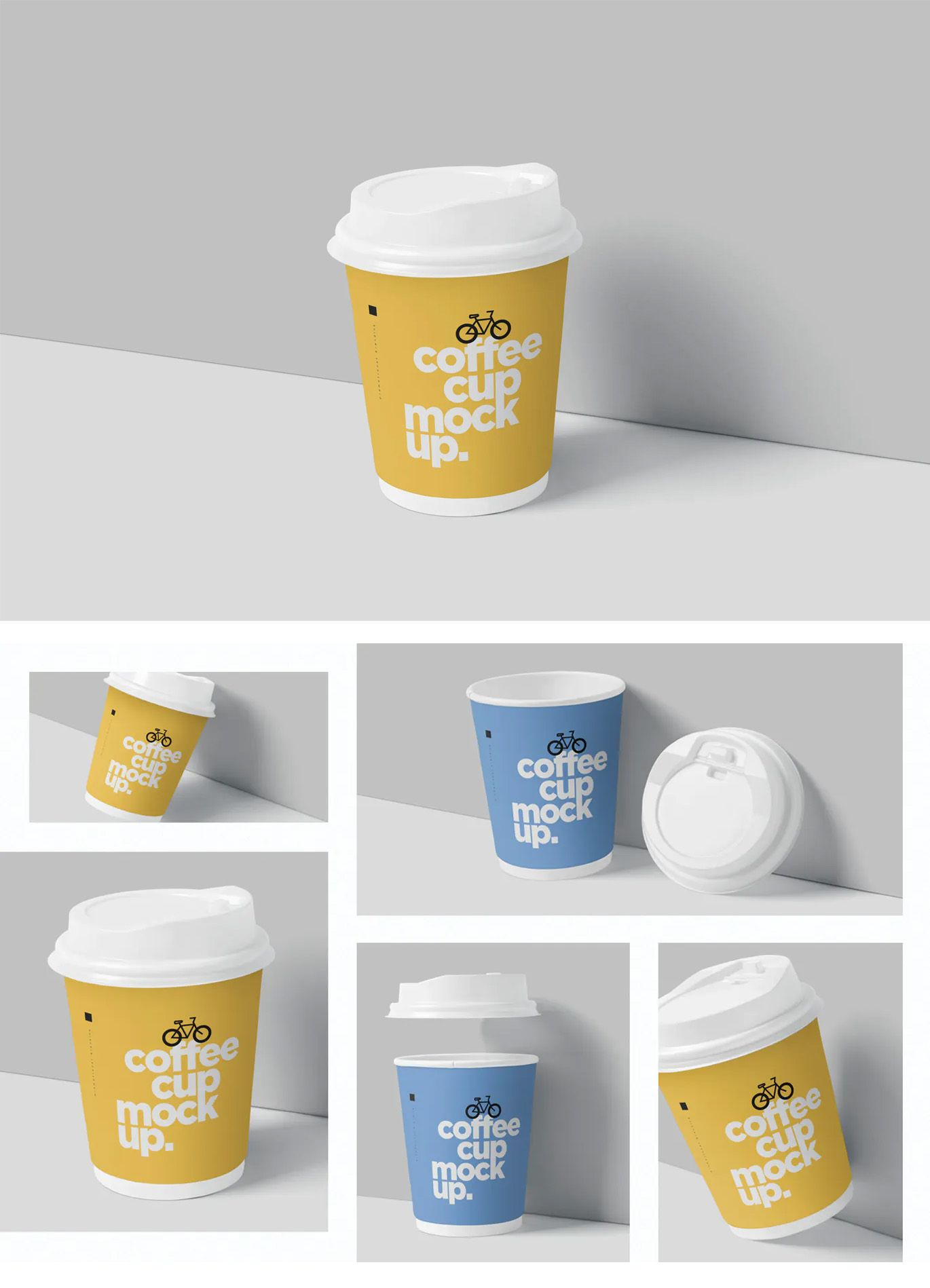 Espresso Coffee Cup Mockup PSD in 2020 Coffee cups