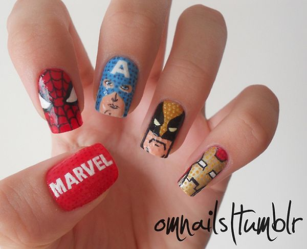 Marvel Nails Iron Man Is Hot
