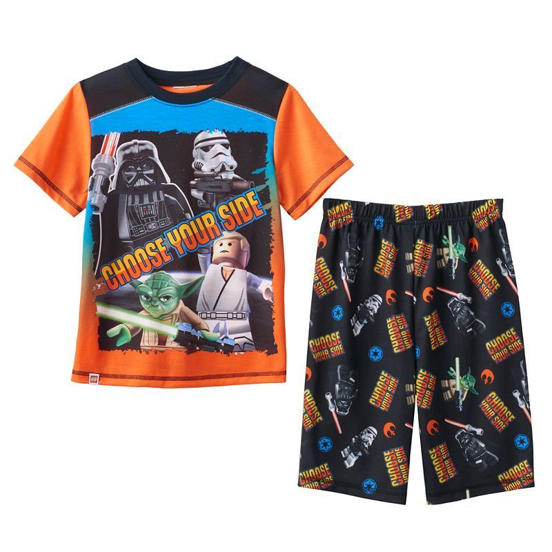 Boys 4-12 LEGO Star Wars 2-Piece Pajama Set, Boy's, Size: