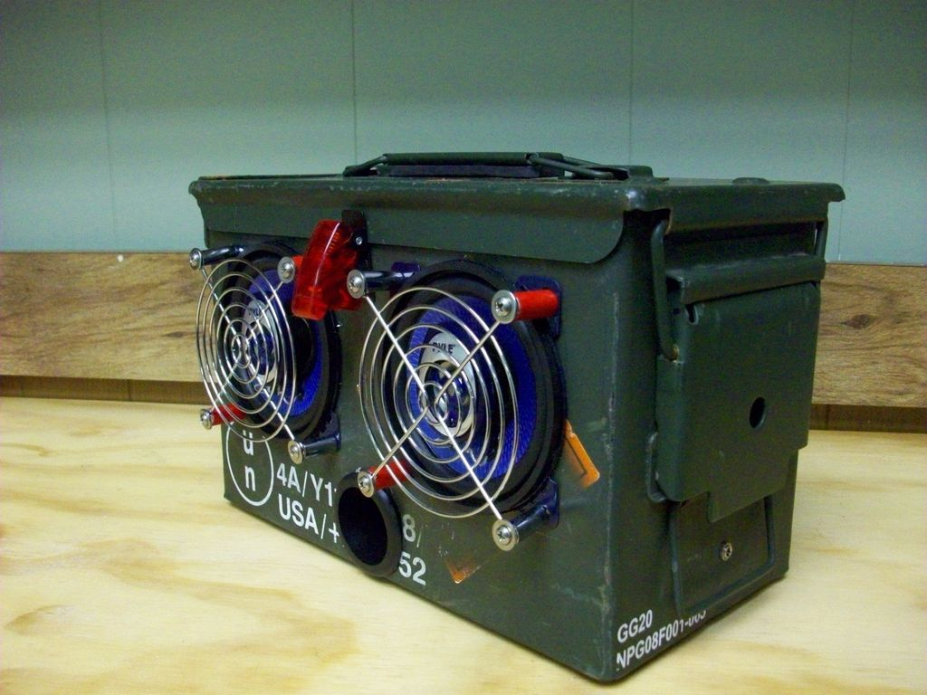 Ammo Box Speakers Guy Stuff Pinterest And Stuffing Diy Boombox Wiring Diagram How To Make Your Own 50 Caliber Ammunition Speaker